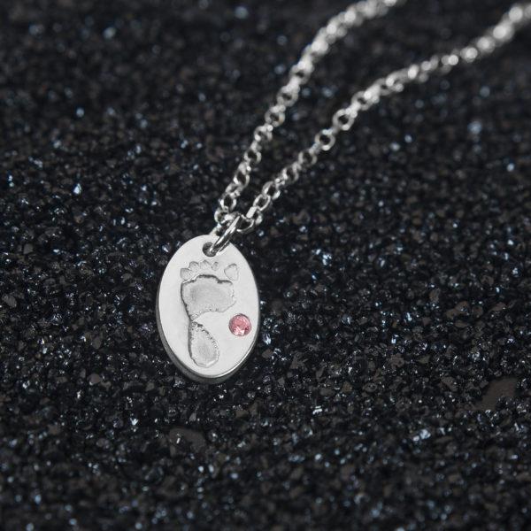 Premium Olivia Footprint Pendant