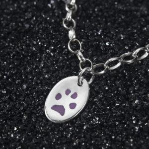 Olivia Pawprint Jewellery Charm