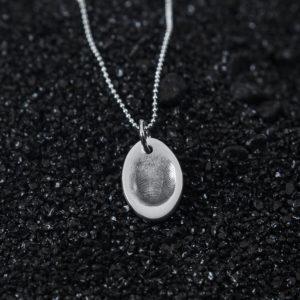 Olivia Fingerprint Jewellery Pendant