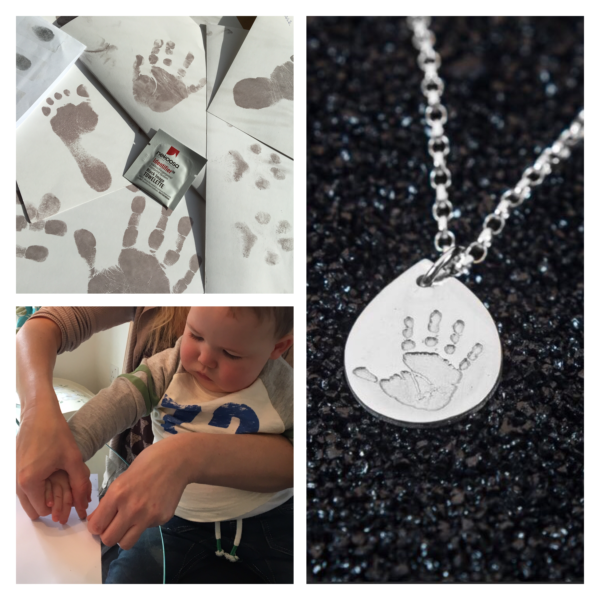 Handprint Jewellery Impression Kit