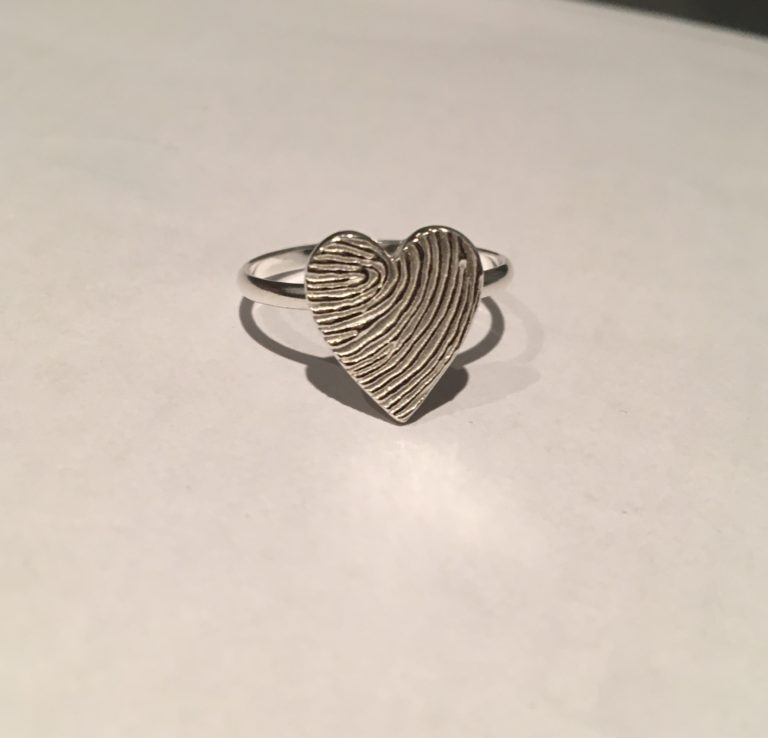 Memorial Jewellery Fingerprint Jewellery
