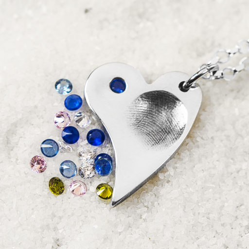 Heart Fingerprint Jewellery