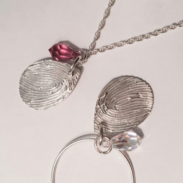 Fingerprint Jewellery Pendant