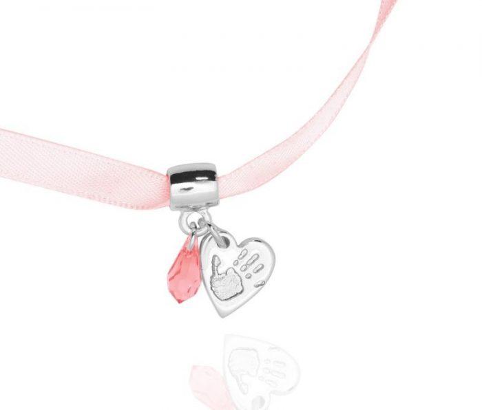 d9971a67c Heart Handprint Bracelet Charm from £60 | Precious Pieces