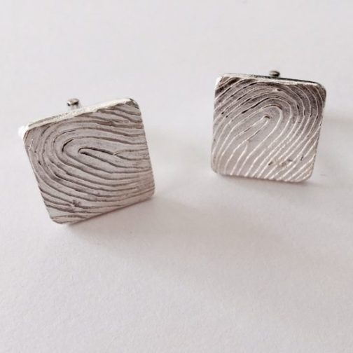 Personalised Fingerprint Cufflinks