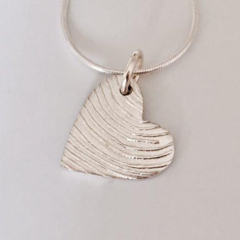 modern fingerprint jewellery