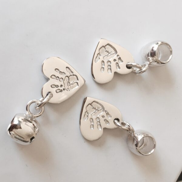 Pandora personalised handprint charms