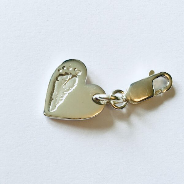 Personalised Footprint Bracelet Charm
