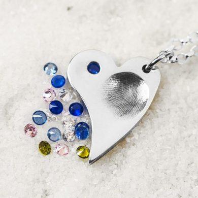 Fingerprint Jewellery | fingerprint necklace