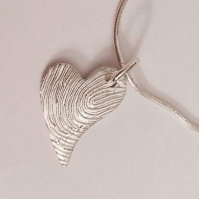 Fingerprint Jewellery Pendant